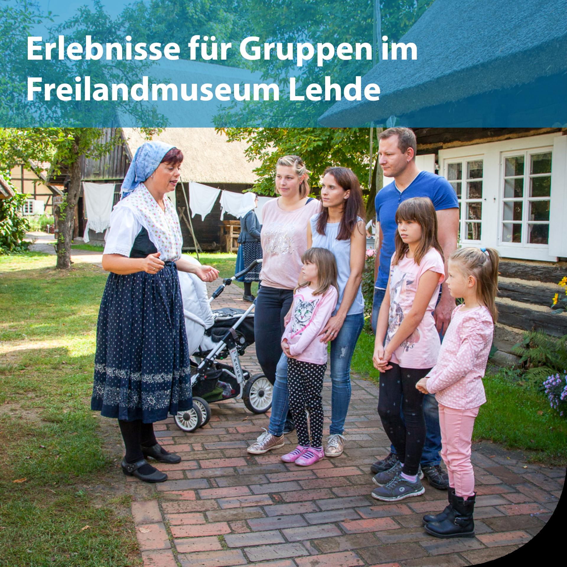 Erlebnisse für Reisegruppen im Freilandmuseum Lehde