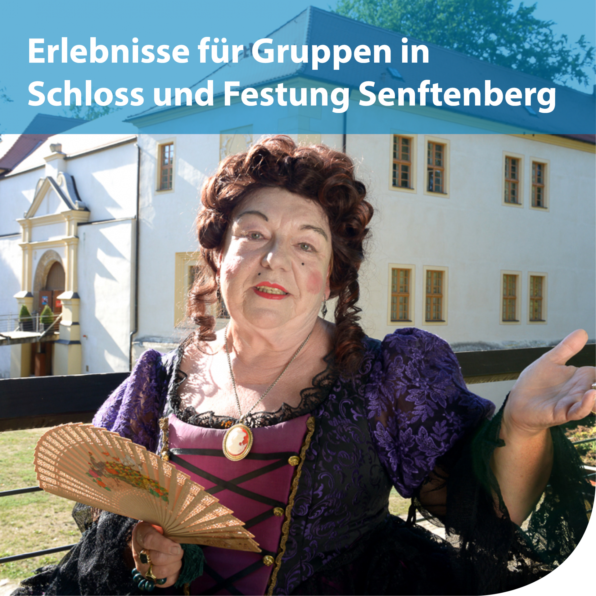 Erlebnisse für Reisegruppen in Schloss und Festung Senftenberg