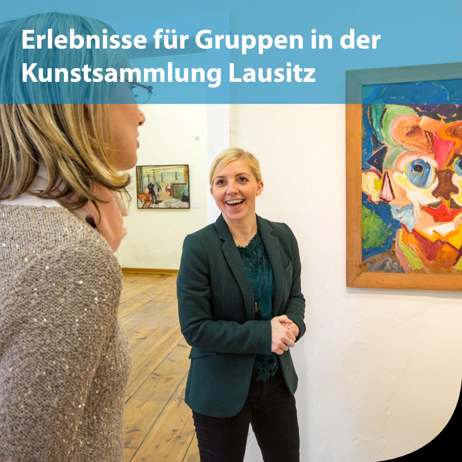 Erlebnisse für Reisegruppen in der Kunstsammlung Lausitz