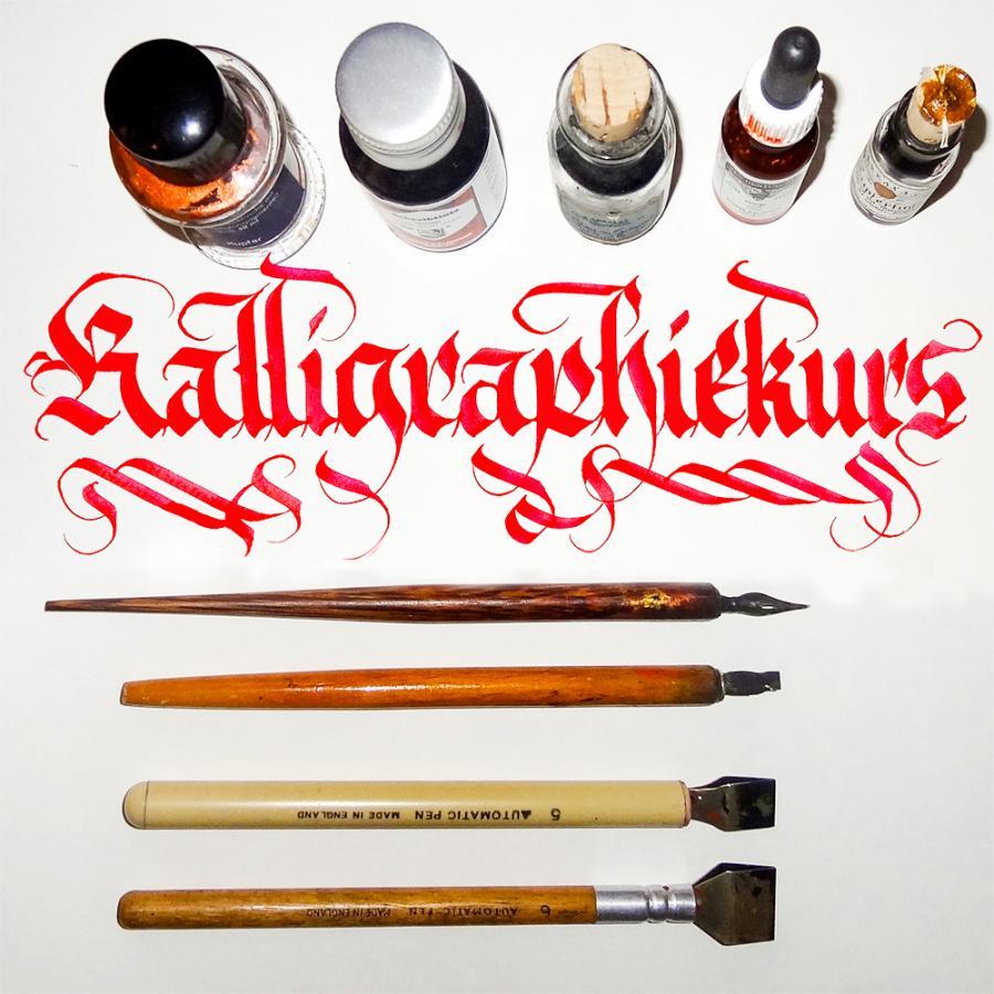 Kalligraphiekurs_Ingo Schiege
