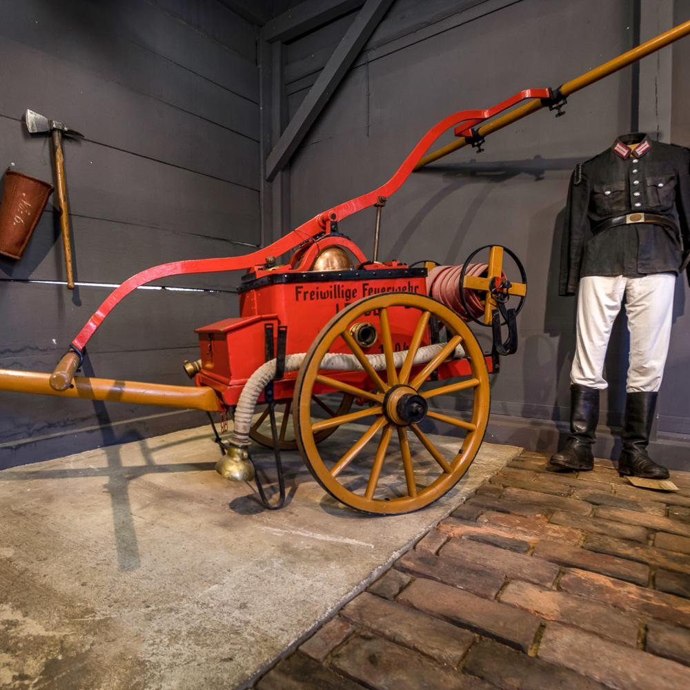 Freilandmuseum Lehde, Feuerwehr  Foto: Mario Koch Fotografie