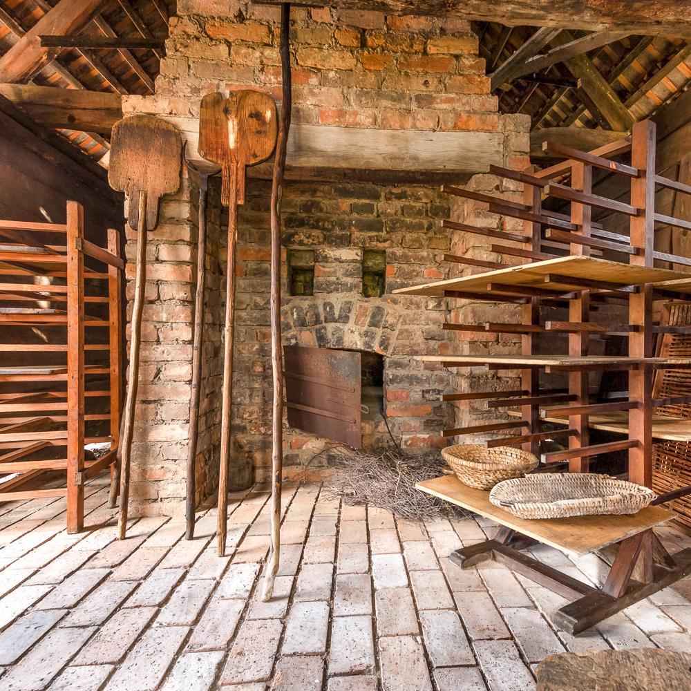 Freilandmuseum Lehde, Backhaus  Foto: Mario Koch Fotografie