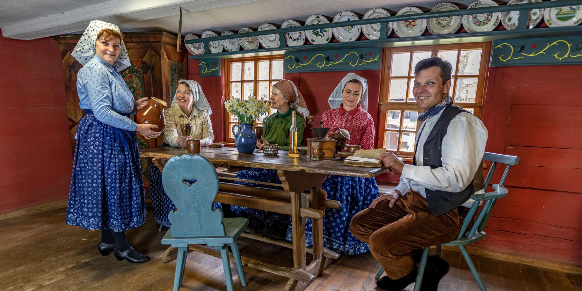 Freilandmuseum Lehde, Hof aus Lehde, Wohnstallhaus  Foto: Mario Koch Fotografie