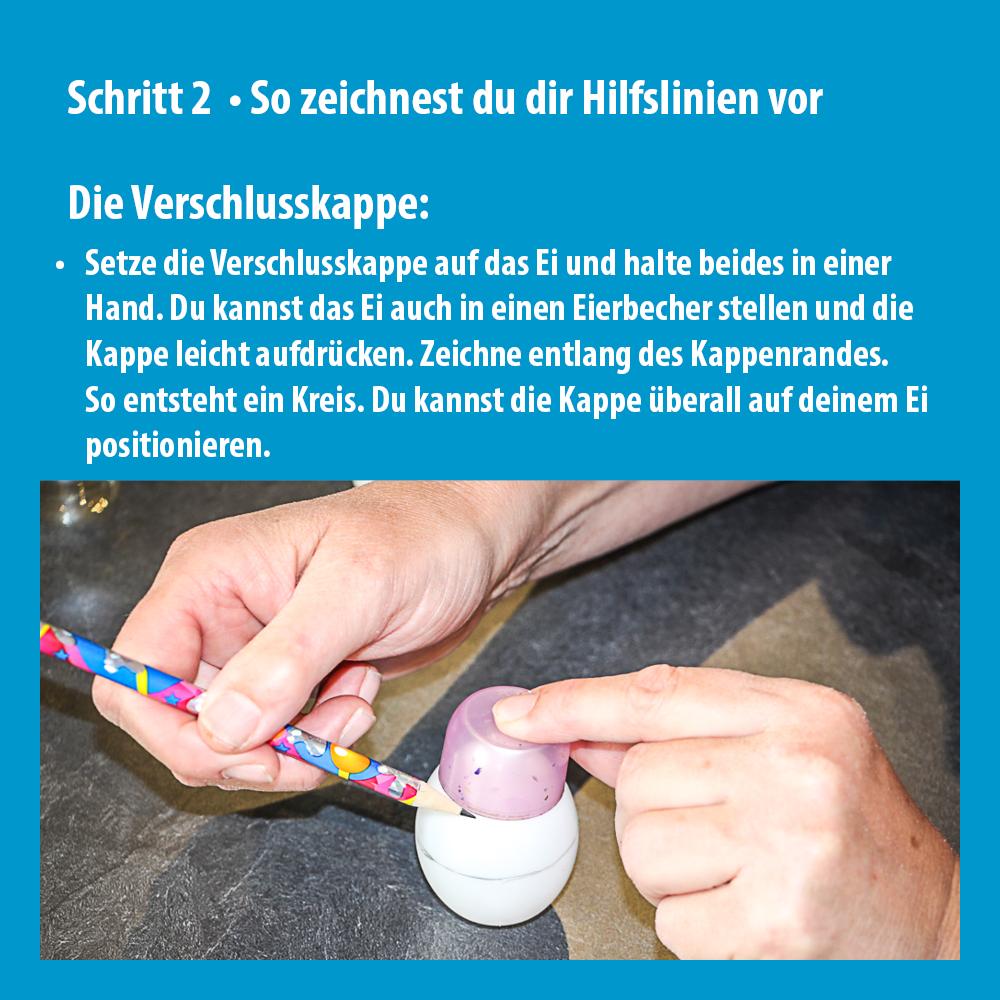 Anleitung Ostereier Schritt 2_Vorzeichnen