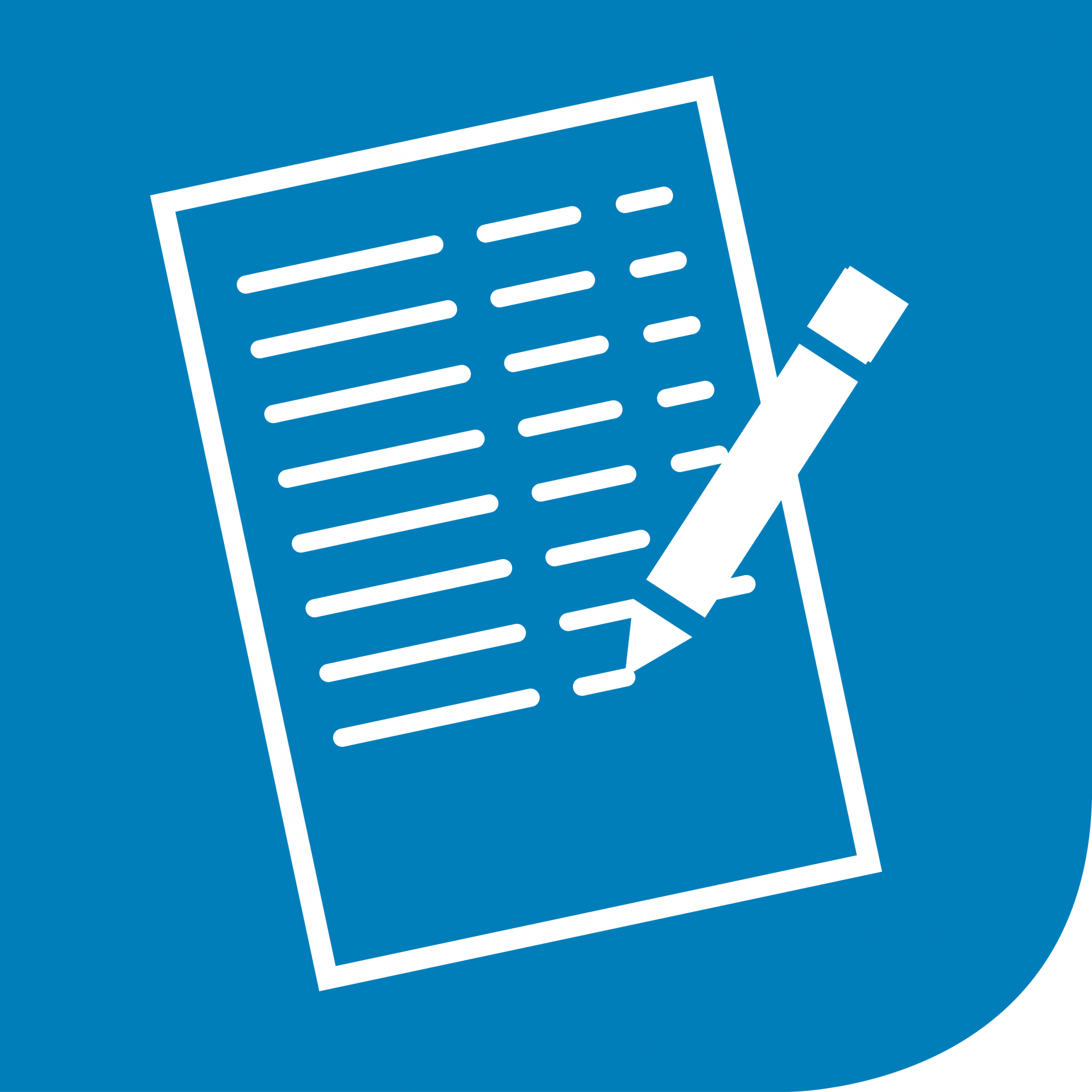 Piktogramm-Daten-erfassen