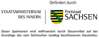Gefördert durch Freistaat Sachsen