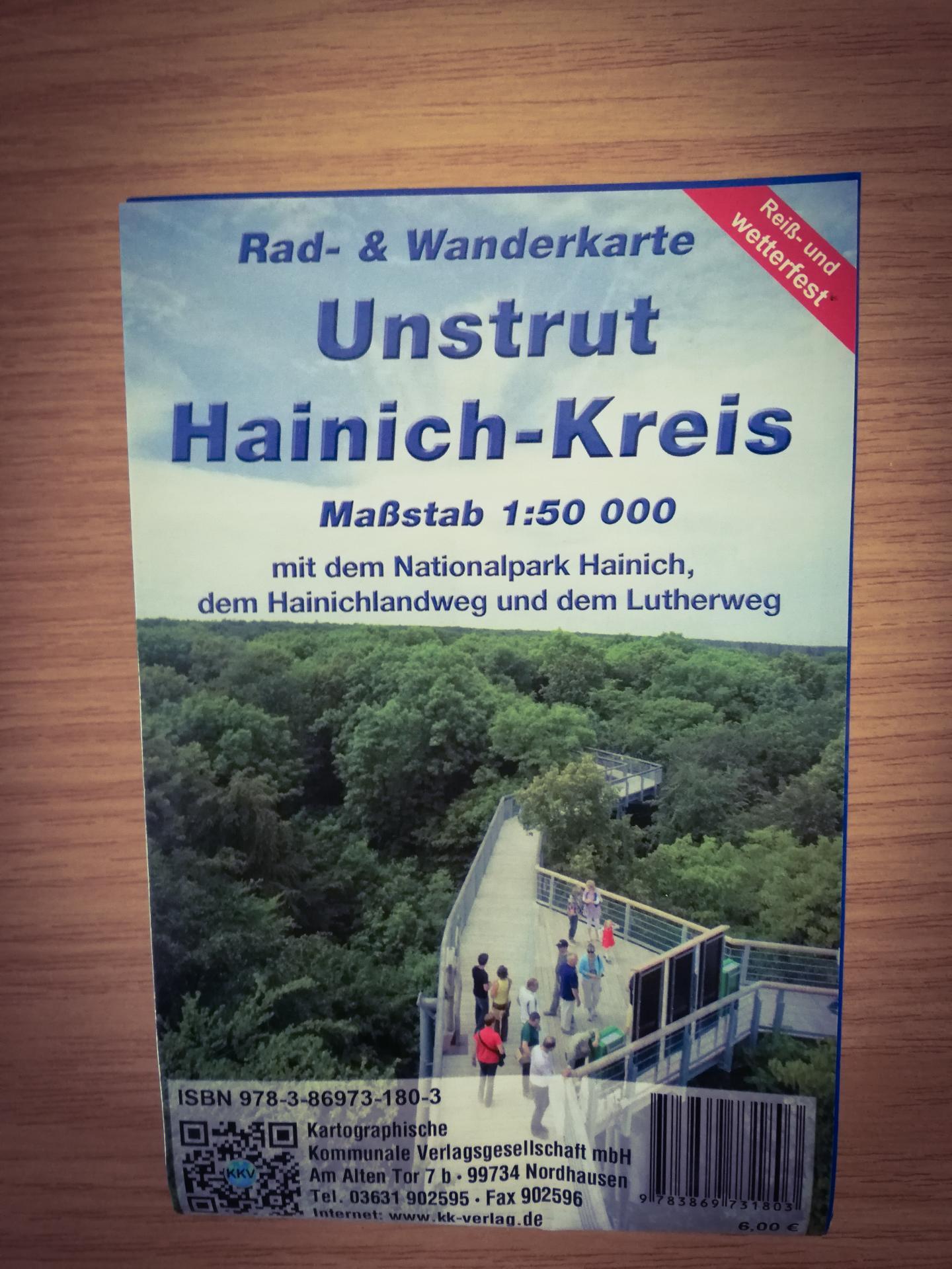 Rad- und Wanderkarte UH-Kreis