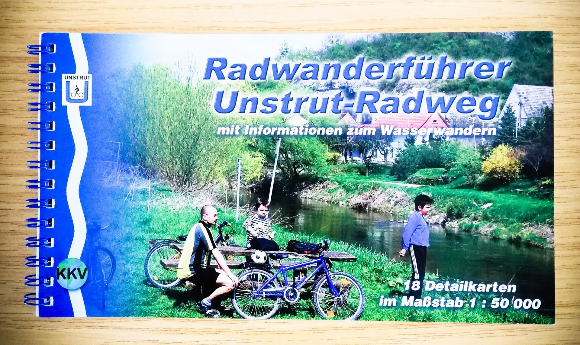 Radwanderführer Unstrut-Radweg