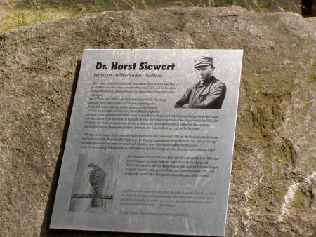 Gedenkstein Horst Siewert