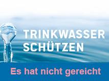 Volksbegehren zum Schutz des Wassers klein Ende