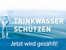 Volksbegehren zum Schutz des Wassers klein