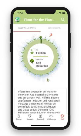 Plant for the Planet App
