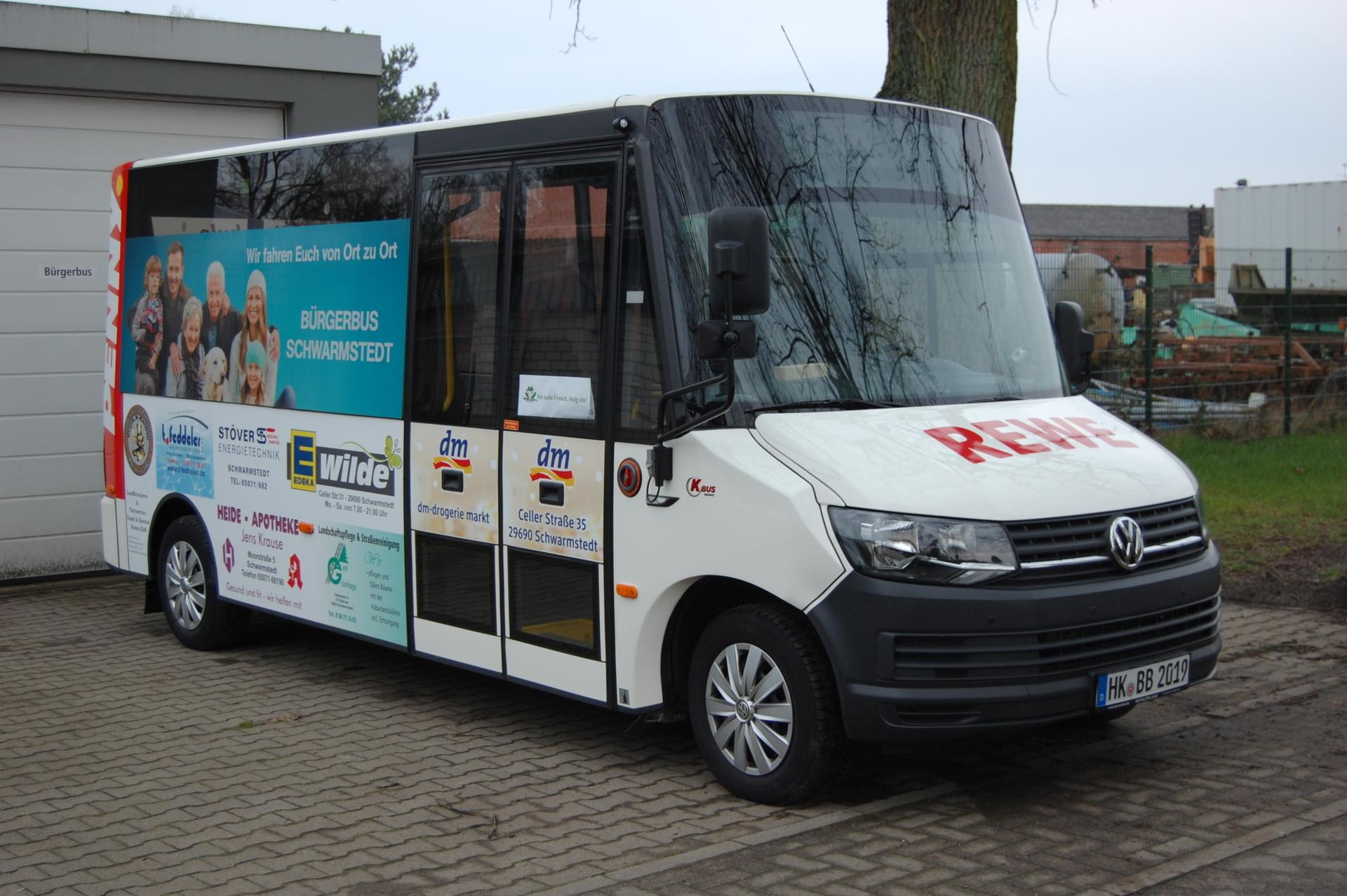 Neuer Bürgerbus 2018