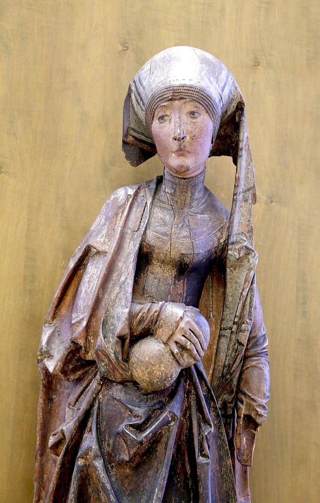 Hl. Elisabeth von Thüringen mit Brot für die Armen