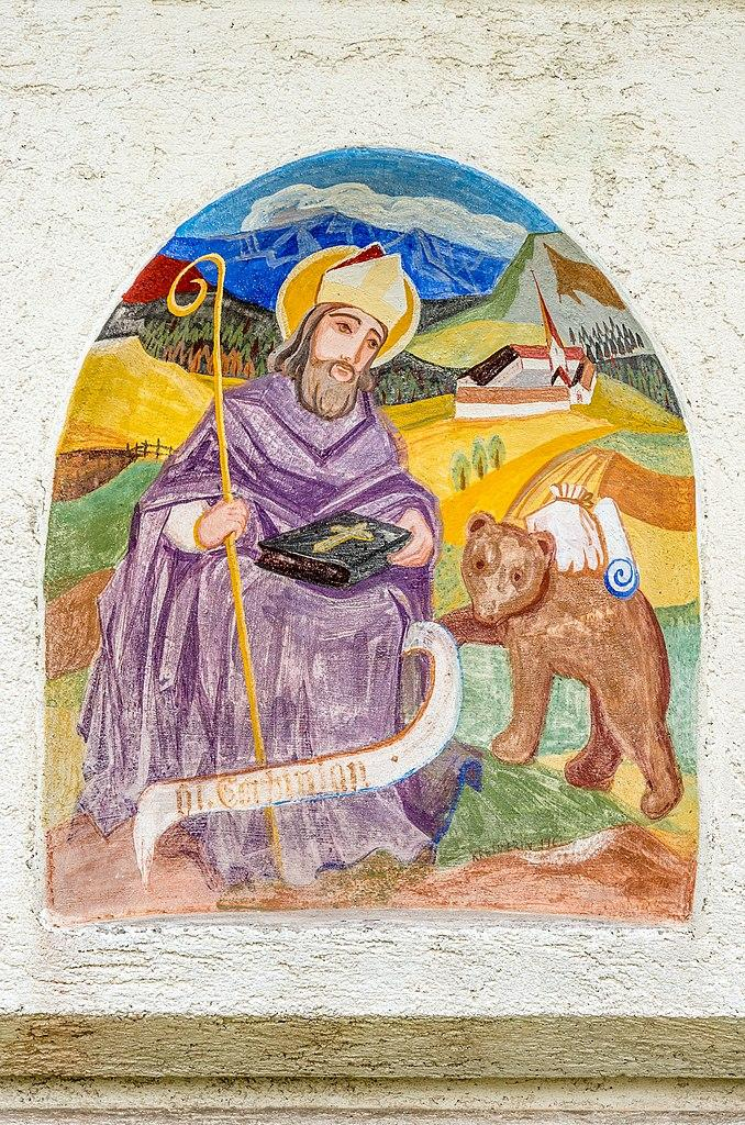 Der hl. Korbinian mit Bär