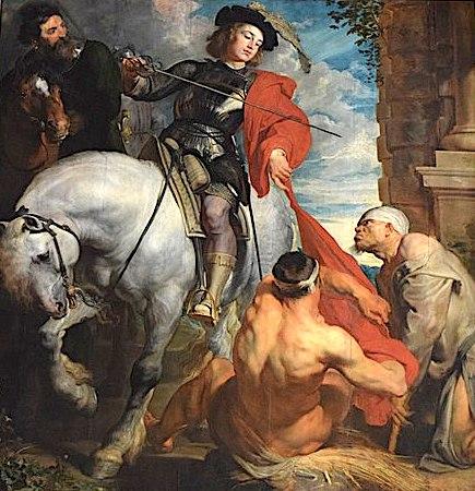 Anthony van Dyck: Martin und der Bettler