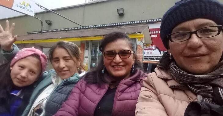 Die Frauen von der Initiative TAQICHUYMAMPI