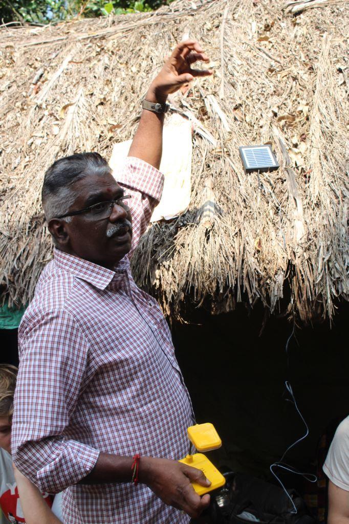 Ranganathen von CTRD erklärt Aufladung von Solar_Leselampen