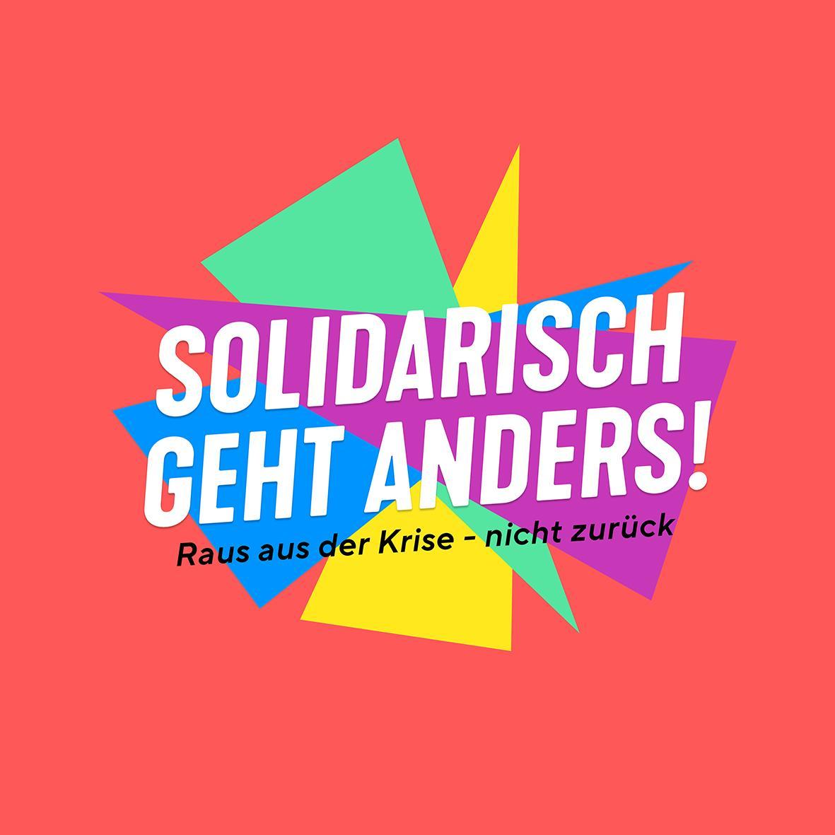Solidarisch geht anders!