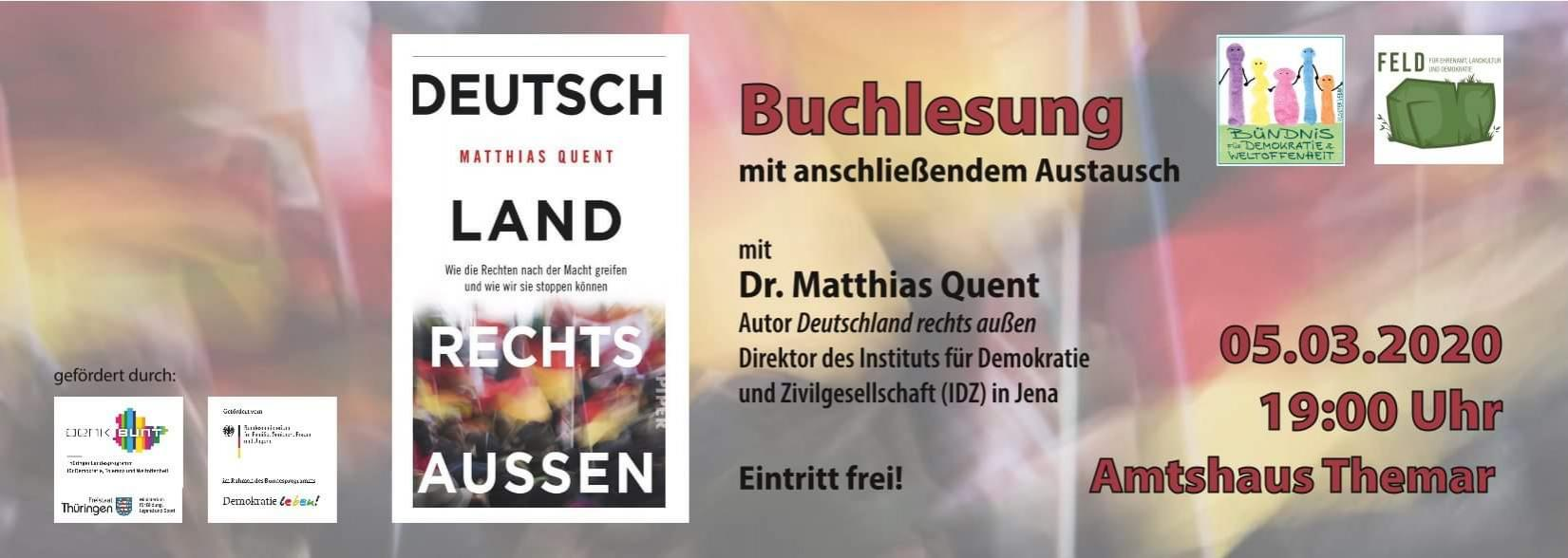 5.3.2020 Buchlesung Quent