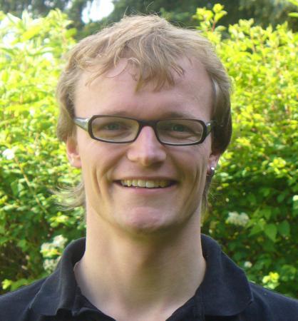Jugendmitarbeiter David Wohlgemuth