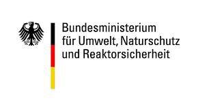 Externer Link zum Klimaschutz des Bundesministeriums für Umwelt, Naturschutz und Reaktorsicherheit; Bild zeigt das Logo des Bundesministeriums für Umwelt, Naturschutz und Reaktorsicherheit
