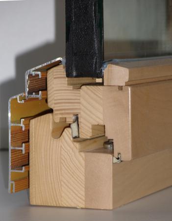 Holz-Aluminium