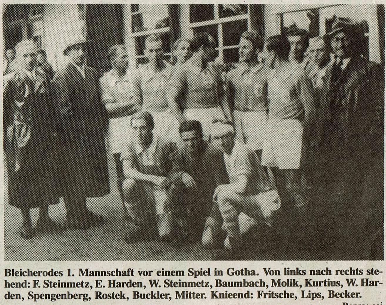 Bleicherode 1. Mannschaft1948