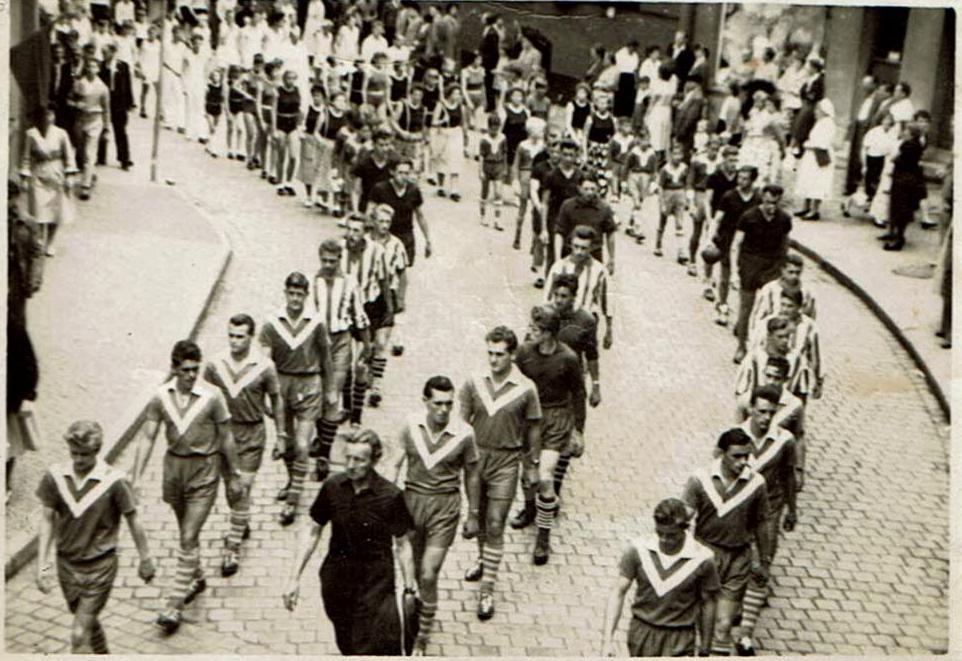 Tag des Bergmanns 1958