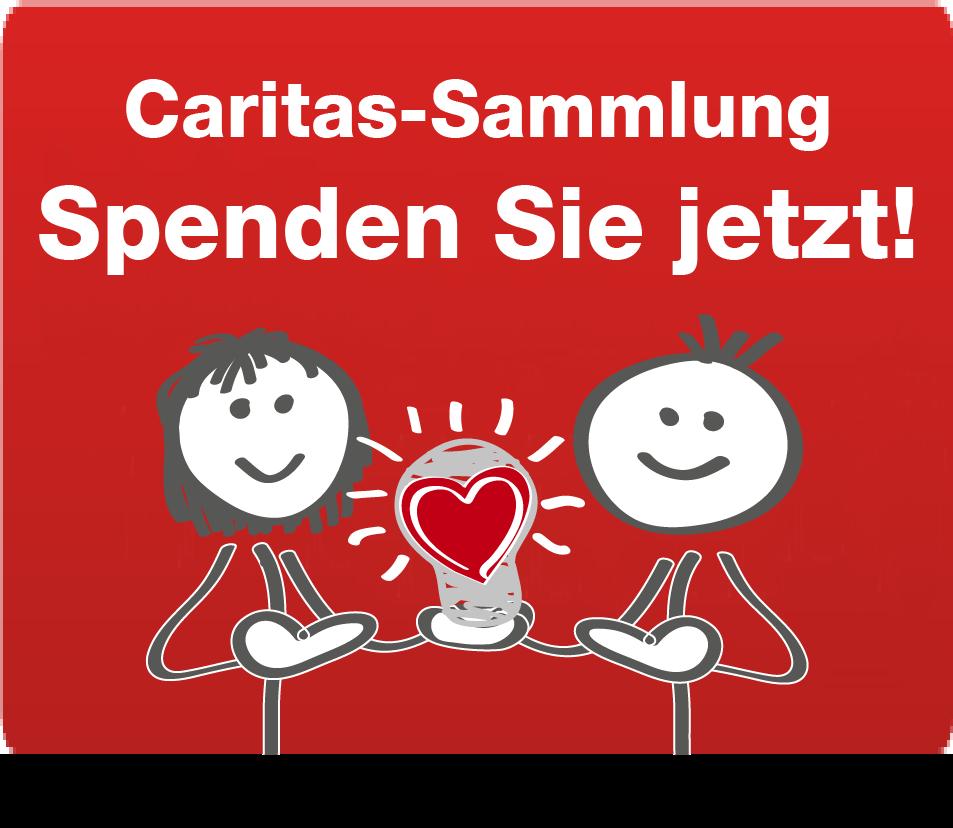 Online spenden - Caritas-Sammlung