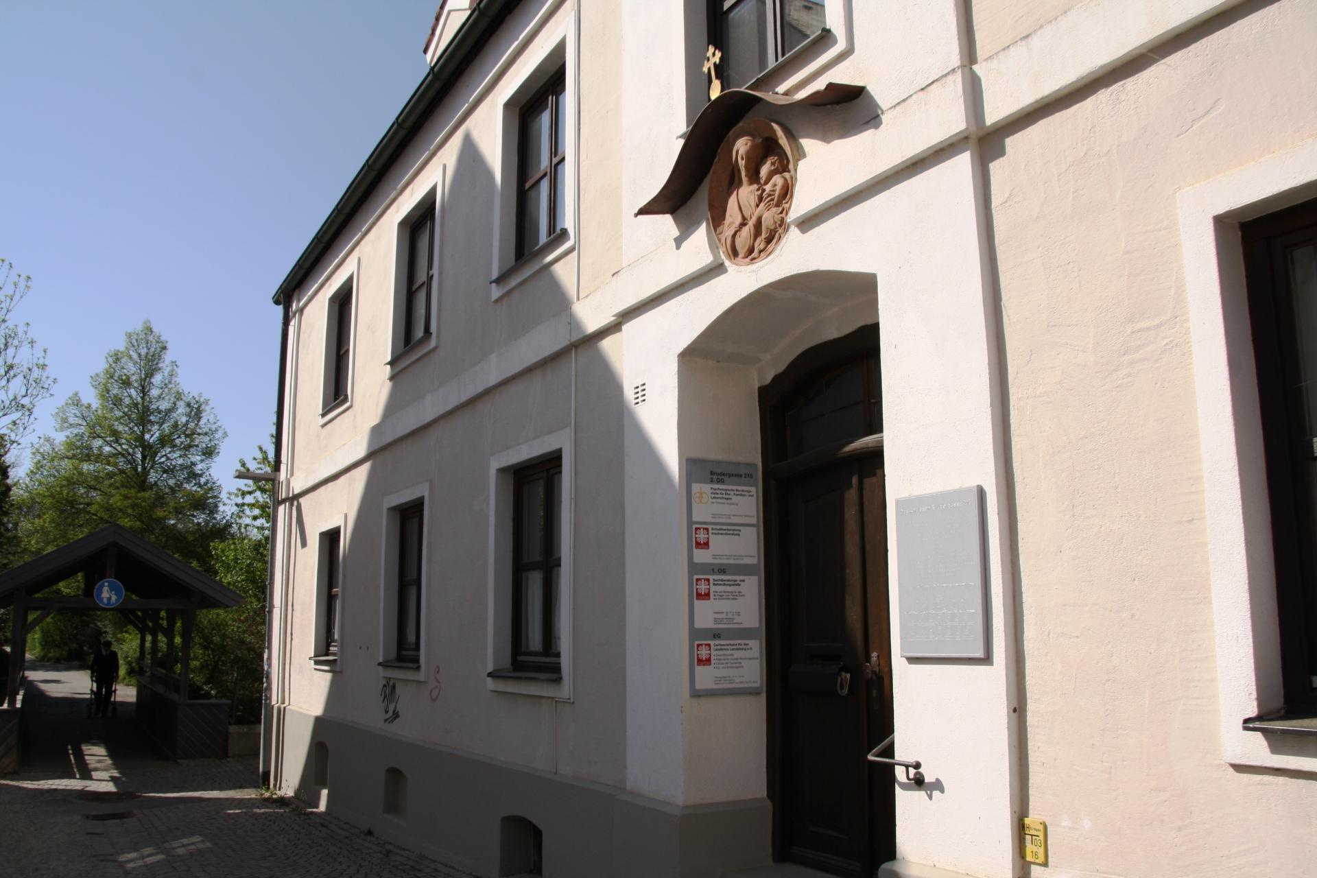 Geschäftsstelle in der Brudergasse 215