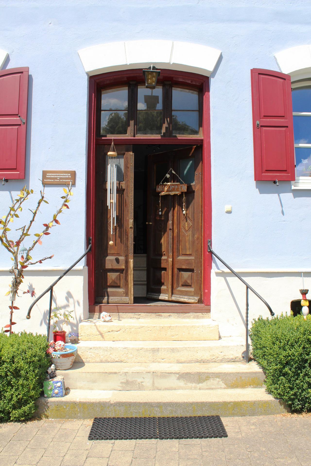 Tagesstätte - Eingangstür