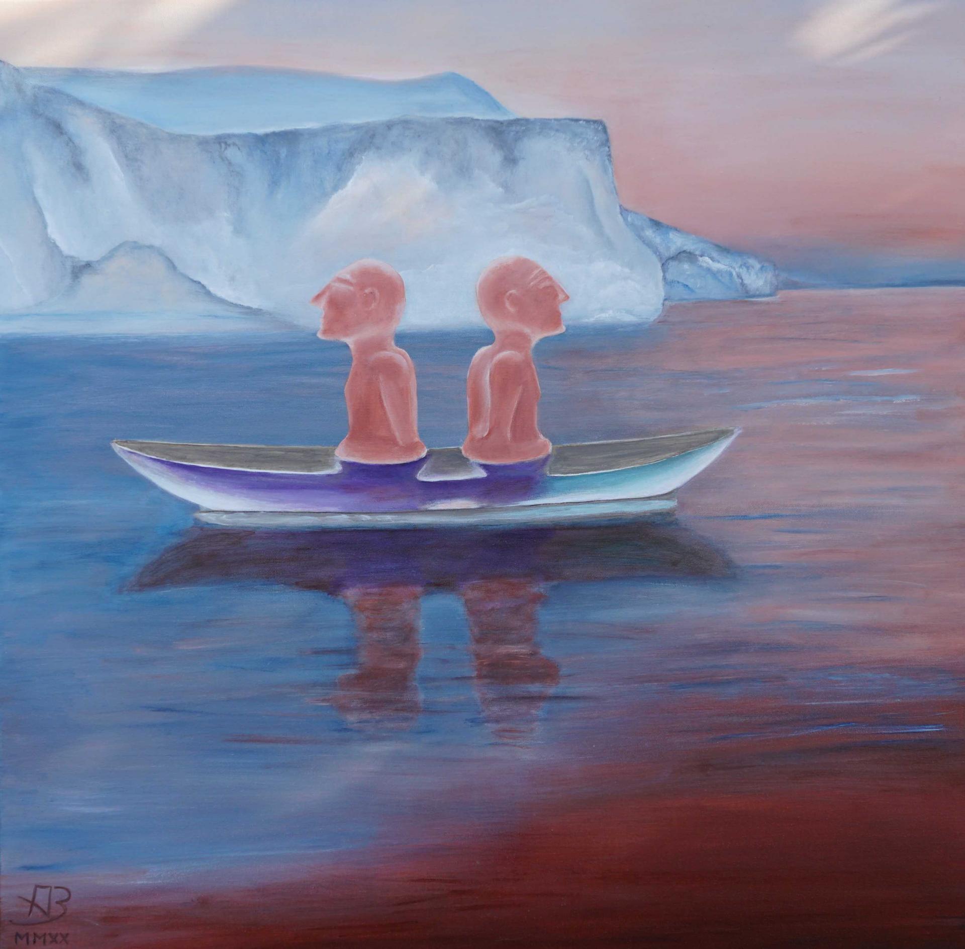 Angelika Boettcher inspiriert von Rachel Daeng Ngalle