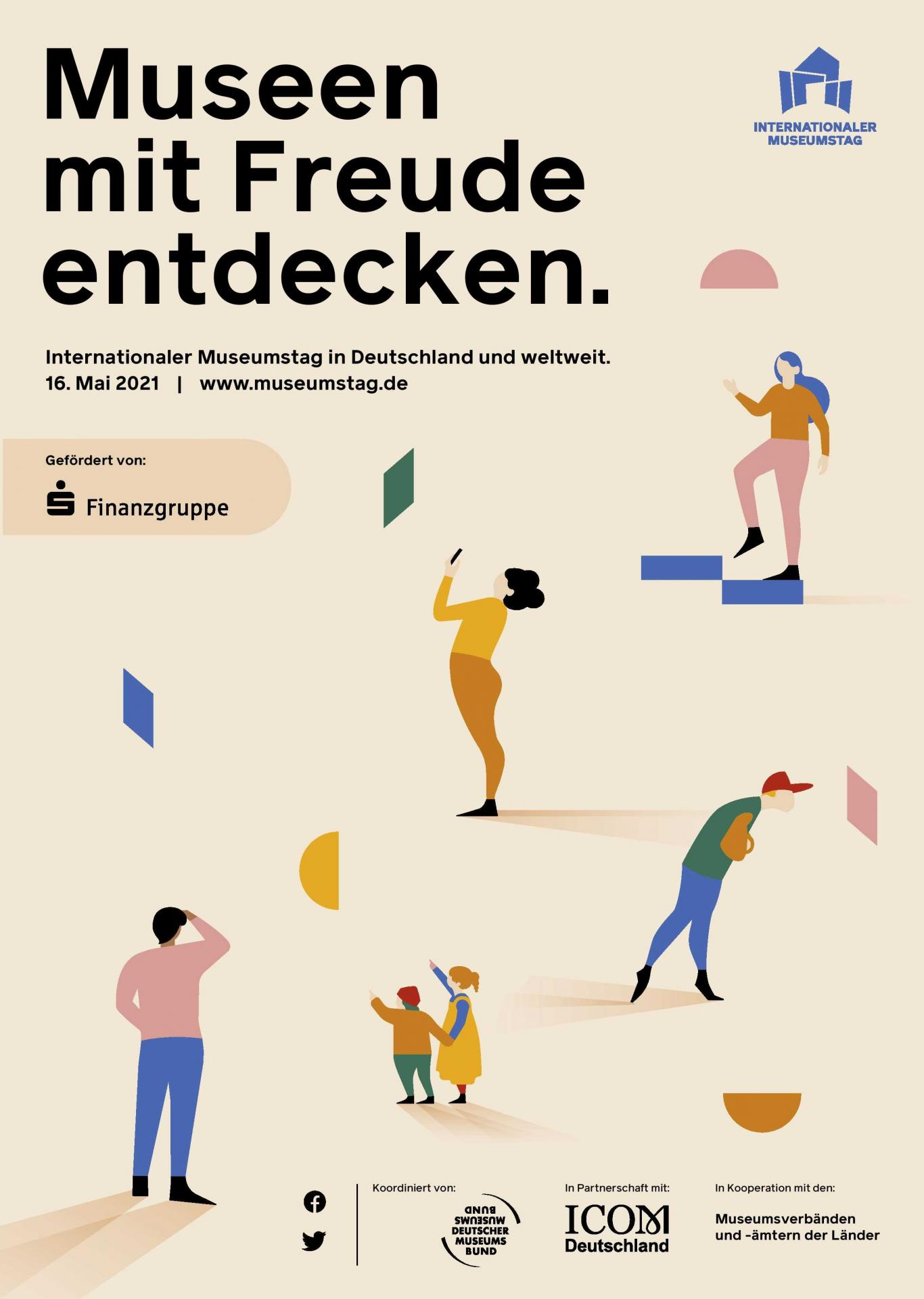 Plakat: Internationaler Museumstag 2021