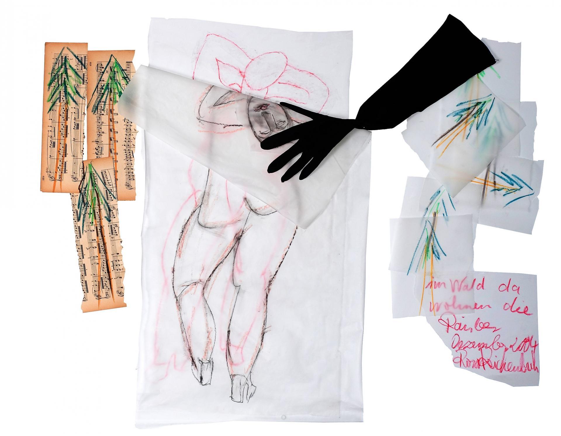 Transparent mit Handschuh - Foto: Reichenbach privat