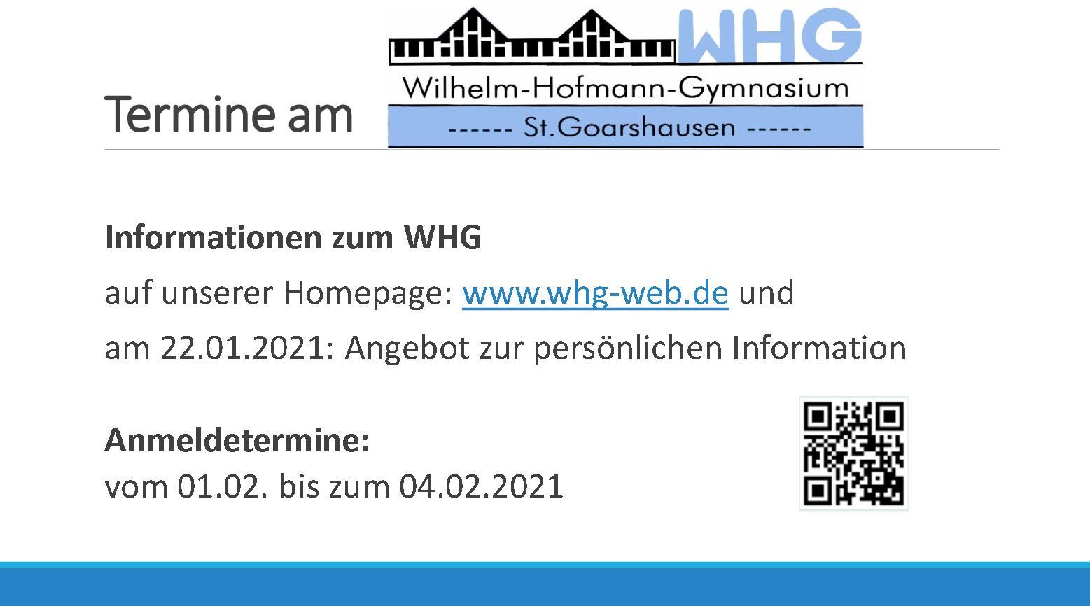WHG Infos