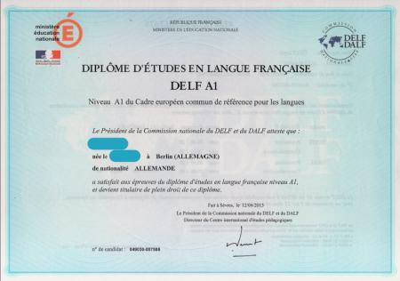 Diplom DELF