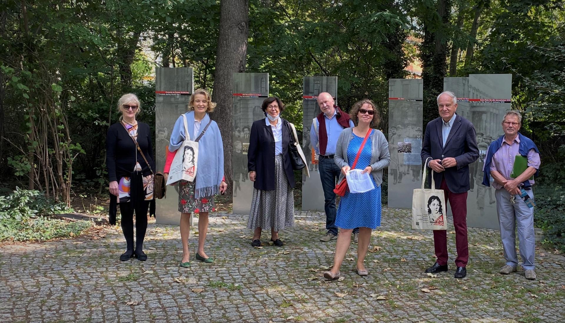 Besuch Friedhof Märzgefallene