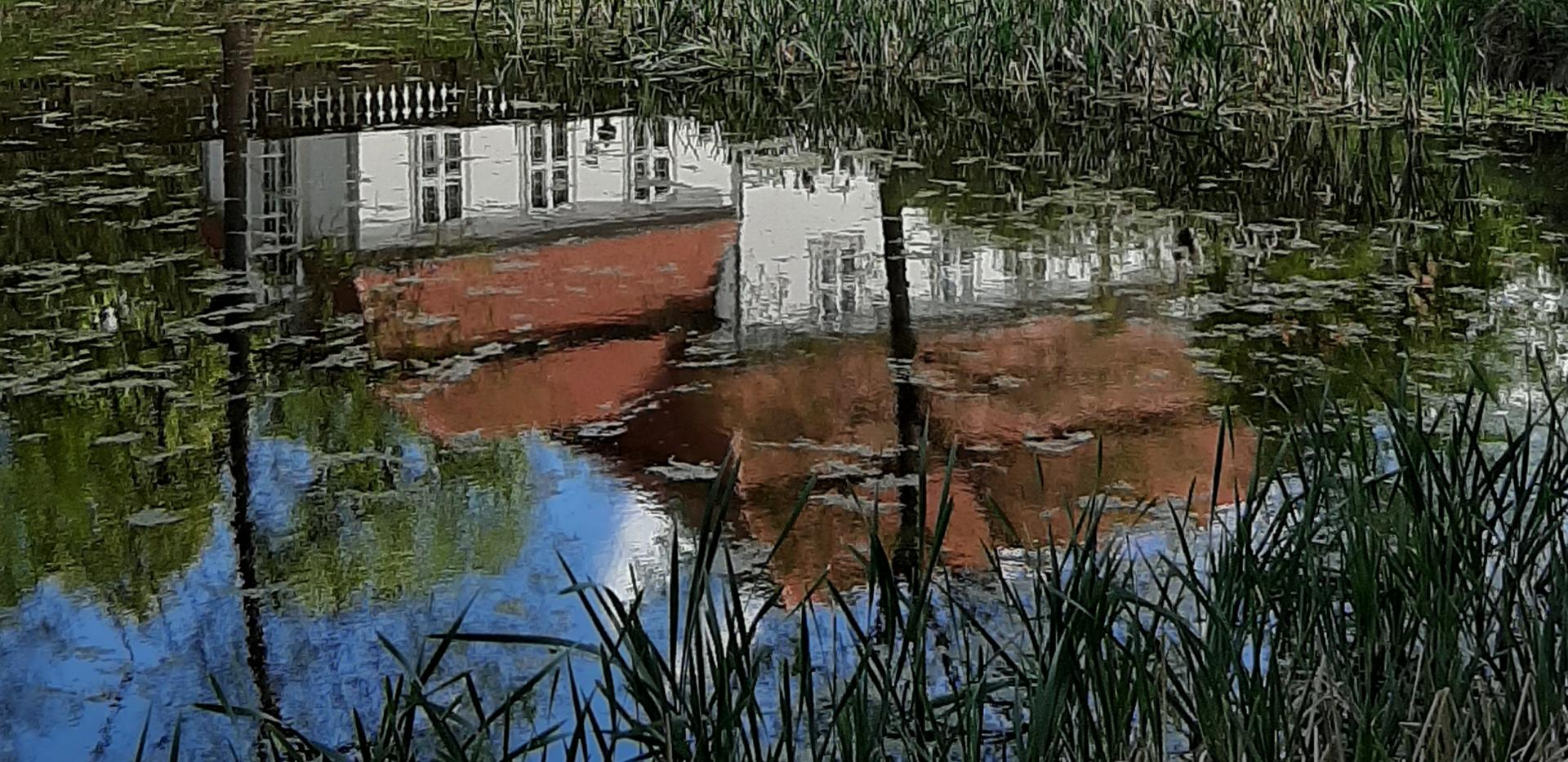 Wiep mit Teich