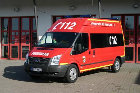 Diese Bild zeigt den ELW = Einsatzleitwagen der Verbandsgemeinde Alzey-Land welcher in Flonheim stationiert ist..JPG