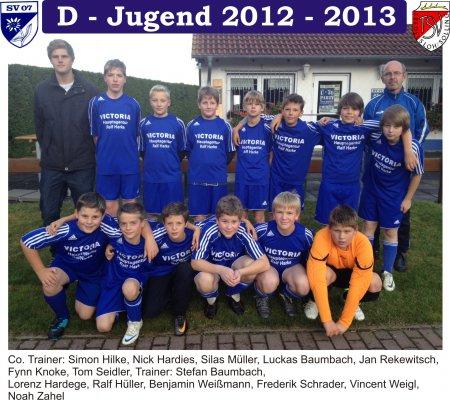 D-Jugend 2012 - 2013