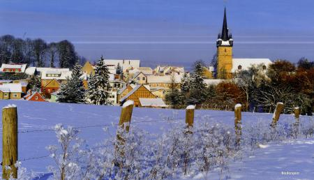 Niederspier im Winter