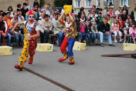 Kinderzirkus der Grundschule Nienburg (Saale)