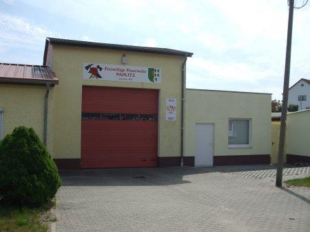 Gerätehaus Paplitz