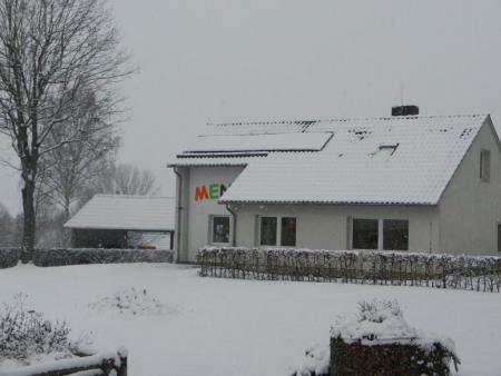 Mensae im Winter