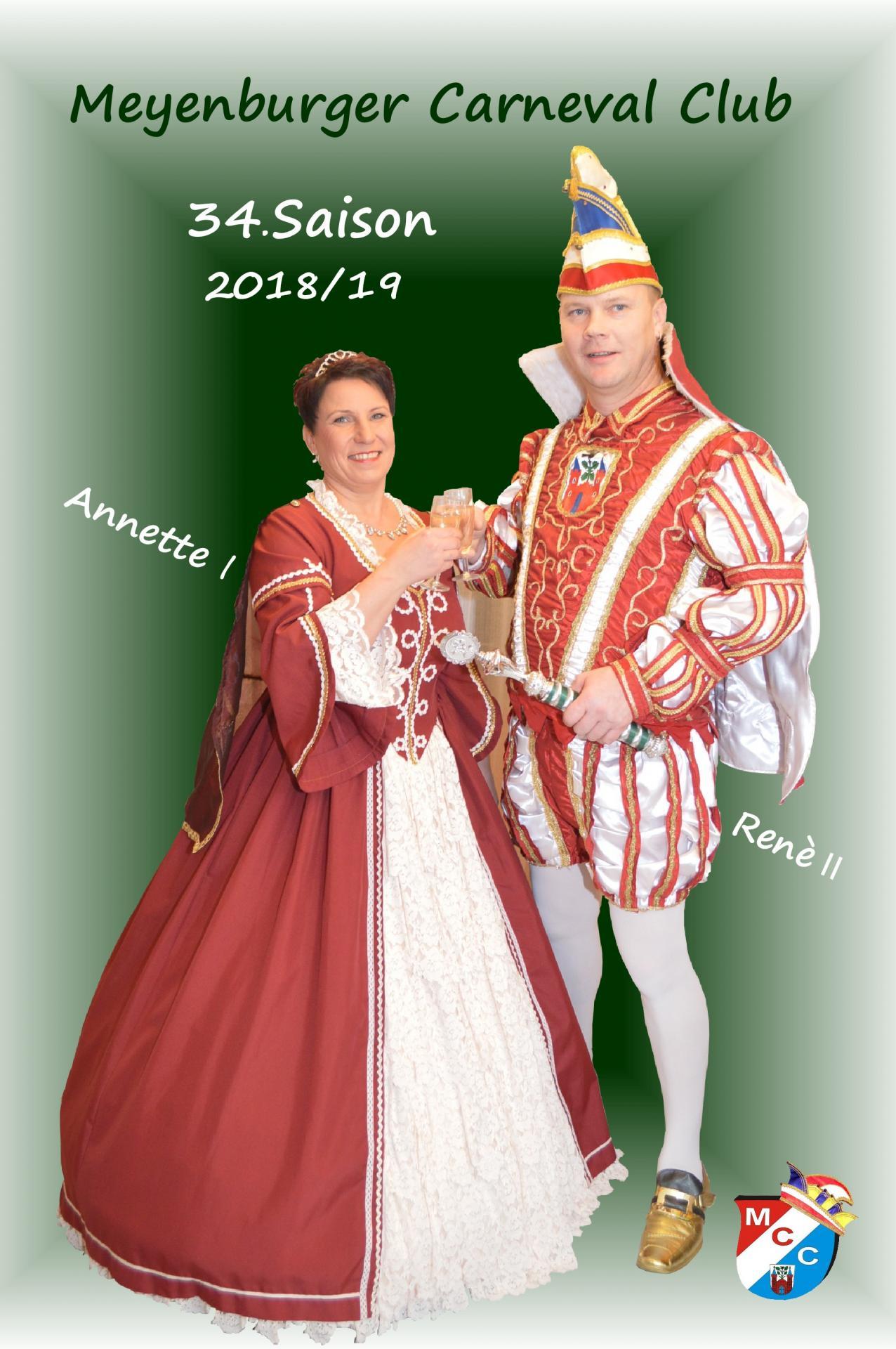 Annette I & Renè II