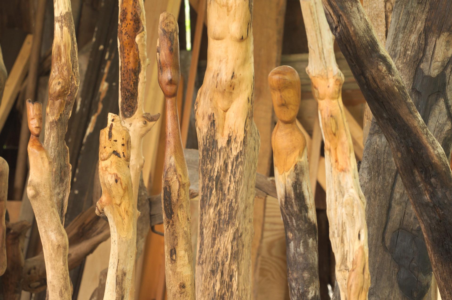 Holzskulptur, Foto: Steffen Klauke