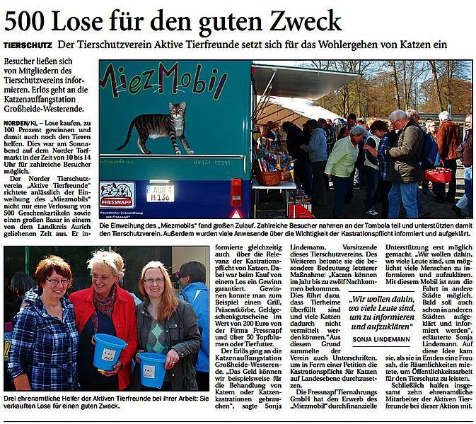 Ostfriesischer Kurier vom 07.05.2013