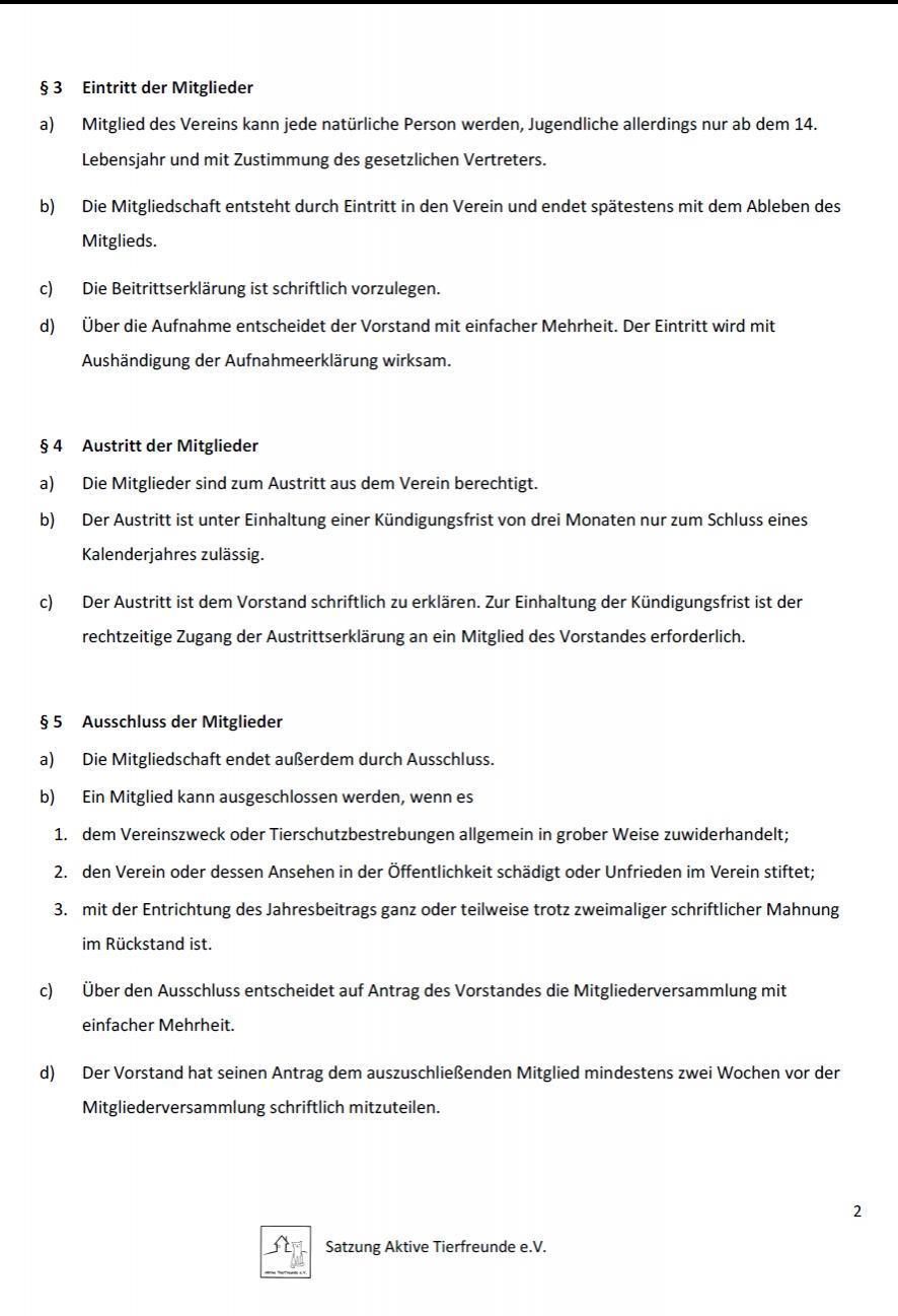 Satzung 2019 Seite 2