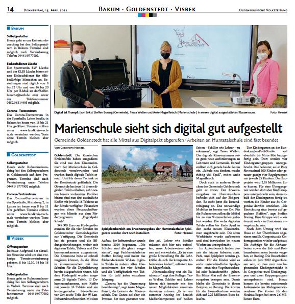 Marienschule digital